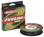 Плетеный шнур Berkley FireLine Braid Lo-vis Green 110м