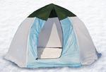Палатка-зонт зимняя Элит 3-местная (дышащая)